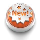 Graphisme de bouton : Neuf Images stock