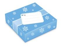 Graphisme de cadeau de Noël Photographie stock libre de droits