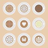 Graphisme de café illustration stock