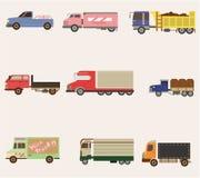 Graphisme de camion de dessin animé Photographie stock libre de droits