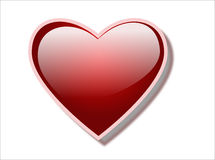 Graphisme de coeur Photographie stock