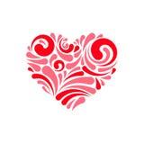 Graphisme de coeur Image libre de droits