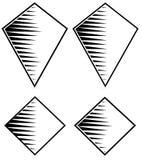 Graphisme de concept de gemme Illustration Libre de Droits