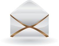 Graphisme de courrier Images stock