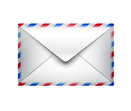 Graphisme de courrier Photographie stock libre de droits