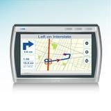Graphisme de dispositif de GPS Photos libres de droits