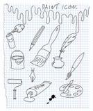 Graphisme de douleur Illustration Stock