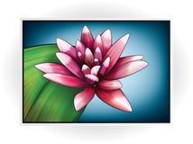 Graphisme de fleur Image libre de droits