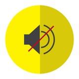 Graphisme de haut-parleur Photos stock