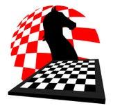 Graphisme de jeu d'échecs illustration libre de droits