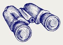 Graphisme de jumelles illustration stock