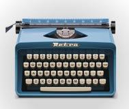Graphisme de la machine à écrire XXL de vecteur Image stock