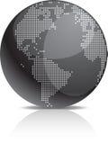 Graphisme de la terre. Image libre de droits