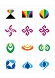 Graphisme de logo Photographie stock libre de droits