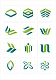 Graphisme de logo Photos stock