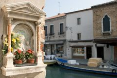 Graphisme de Murano, Venise image stock