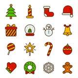 Graphisme de Noël Photos libres de droits