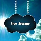 Graphisme de nuage Photographie stock libre de droits