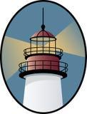 Graphisme de phare Photo stock