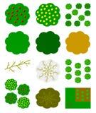 Graphisme de plantes fruitières Images libres de droits