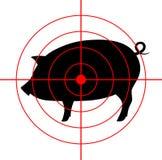 Graphisme de porc Photos stock