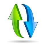 Graphisme de recharge Images libres de droits