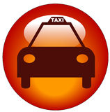 Graphisme de taxi de taxi Photo stock