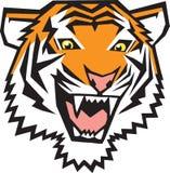 Graphisme de tigre Illustration de Vecteur