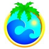 Graphisme de tourisme et de vacances illustration libre de droits