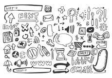 Graphisme de Web d'attraction de main, vecteur illustration de vecteur