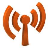 Graphisme de Wi-Fi Photographie stock libre de droits