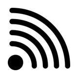 Graphisme de Wifi Photo libre de droits