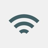 Graphisme de Wifi Photographie stock