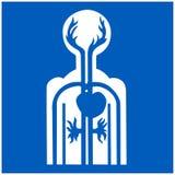 Graphisme médical illustration stock