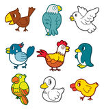 Graphisme mignon d'oiseau Images libres de droits