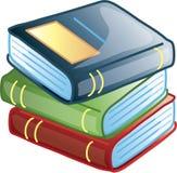 Graphisme ou symbole de livres Photos stock