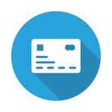 Graphisme par la carte de crédit Image libre de droits
