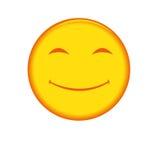 Graphisme souriant de visage Images stock