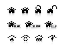 graphismes à la maison illustration de vecteur
