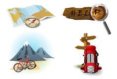 Graphismes campants 2 illustration stock