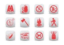 Graphismes campants Images libres de droits