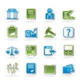 Graphismes d'échange courant et de finances Photo libre de droits