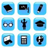 Graphismes d'éducation Photographie stock libre de droits