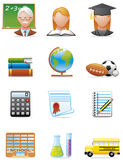 Graphismes d'éducation Photographie stock