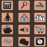 Graphismes d'achats Photo libre de droits