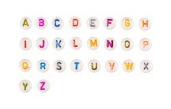Graphismes d'alphabet Photo libre de droits