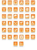 Graphismes d'hôtel Photo stock