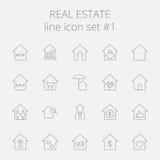 Graphismes 2 d'immeubles illustration stock