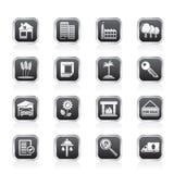 Graphismes d'immeubles et de construction Photos libres de droits