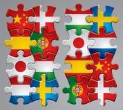 Graphismes d'indicateur de puzzle   illustration stock